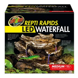 ZooMed ReptiRap.LED Waterfall Medium Rock