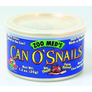 ZooMed Can O' Snails 48g