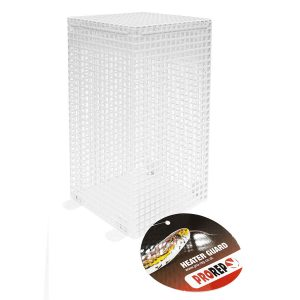 ProRep Ceramic Heater Guard, White. HCG057