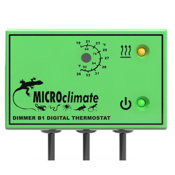 MicrcoClimate Dimmer B1 Green Thermostat