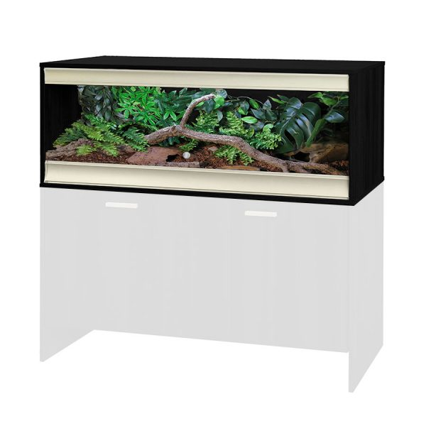Vivexotic Large Terrestrial vivarium Black TVV027