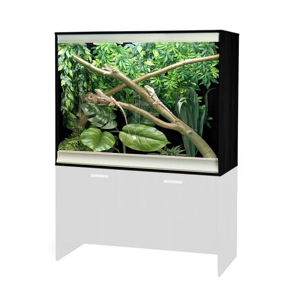 VivExotic Large Deep Arboreal Vivarium Black TVV077