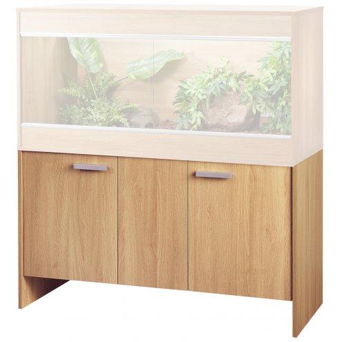 oak-coloured the Vivexotic Repti-home AAL cabinet for bearded dragon vivarium