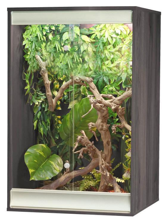 an image of a grey coloured small viva arboreal vivarium